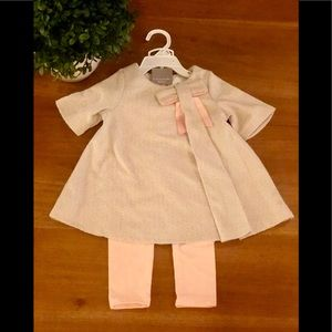 NWT! Tahari Baby (24 month) adorable 2 piece